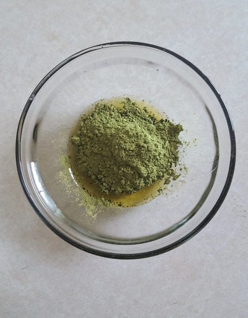 Chia matcha bark matcha mix