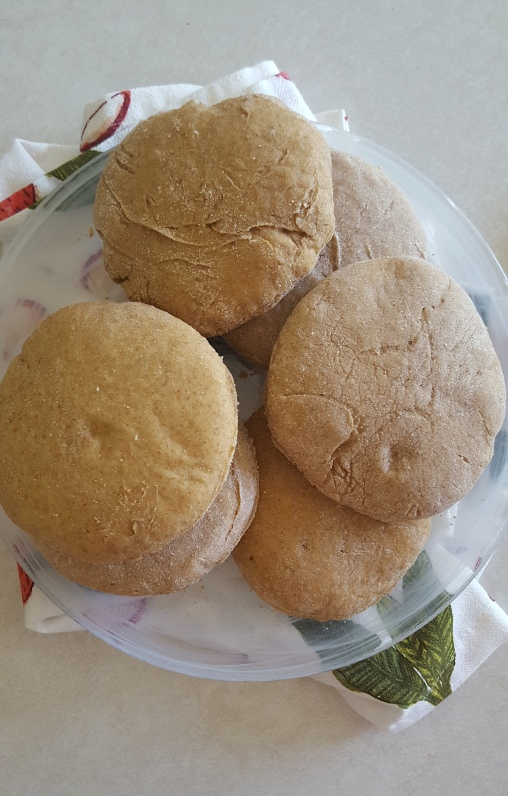 whole wheat buns 5