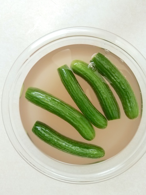 pickles - in brine