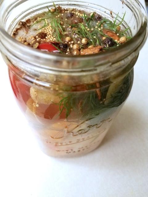 pickles - in jar