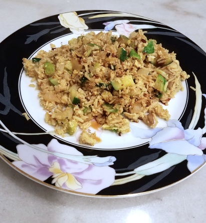 Healthy fried rice 4
