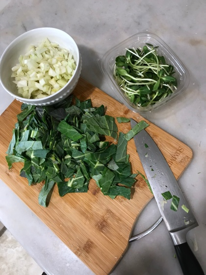 mac n cheese greens raw