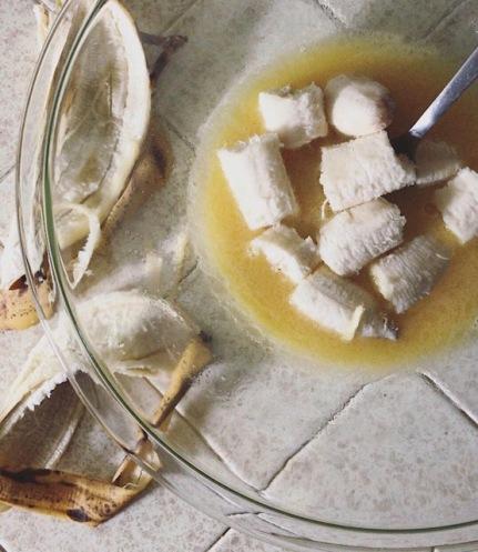 Banana bread raw1